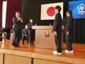 20141104 桜井中学校自転車安全利用キャンペーン (10)