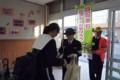 20141121 安城南中学校自転車安全利用キャンペーン (2)