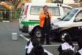 20141121 安城南中学校自転車安全利用キャンペーン (6)