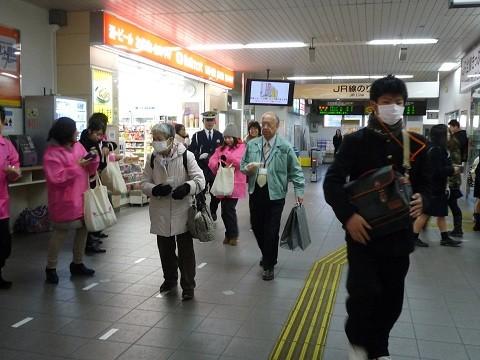 2014.12.5 JR安城駅 - 飲酒運転根絶キャンペーン (8)