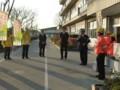 2014.12.10 安祥中学校自転車安全利用キャンペーン (3) あんじょう警察署