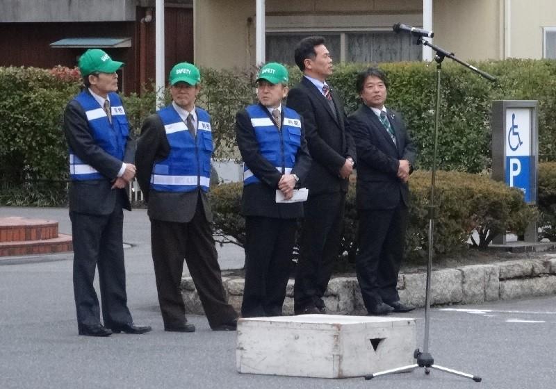 2015.2.23 町内会あおぱと出発式 (1) 議長ら