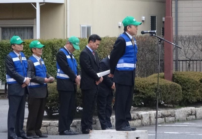 2015.2.23 町内会あおぱと出発式 (10) 町内会長連協副会長