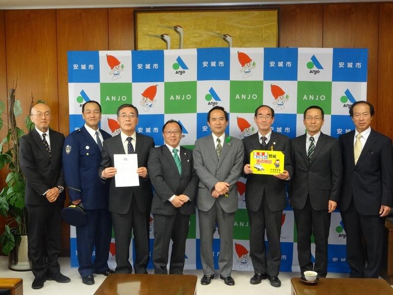 20150416 古井町犯罪抑止モデル地区指定式 (15) 800-600