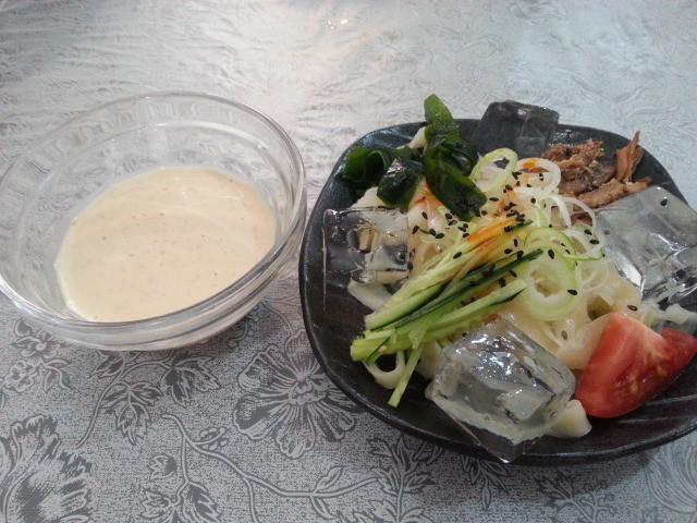 20150508_121729 福来源 - 刀削麺の冷麺