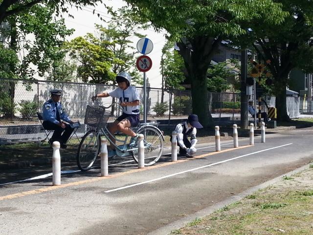 20150606_095207 こども自転車大会 - ゼッケン17