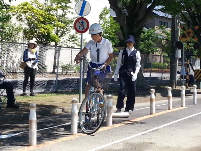 20150606_095806 こども自転車大会 - ゼッケン1