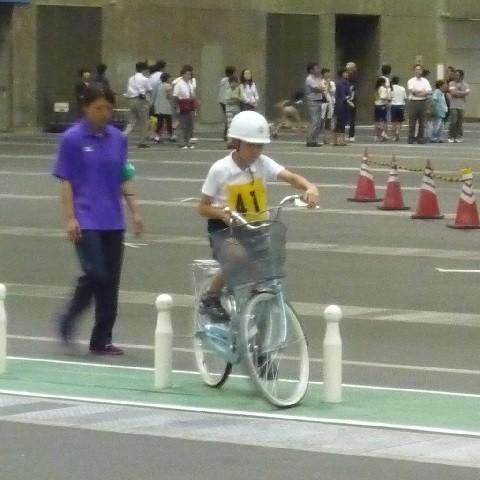 愛知県こども自転車大会 - 実技テスト (1)