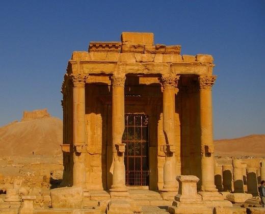 バールシャミン神殿(ヨルダン・シリアの世界遺産を巡る旅)