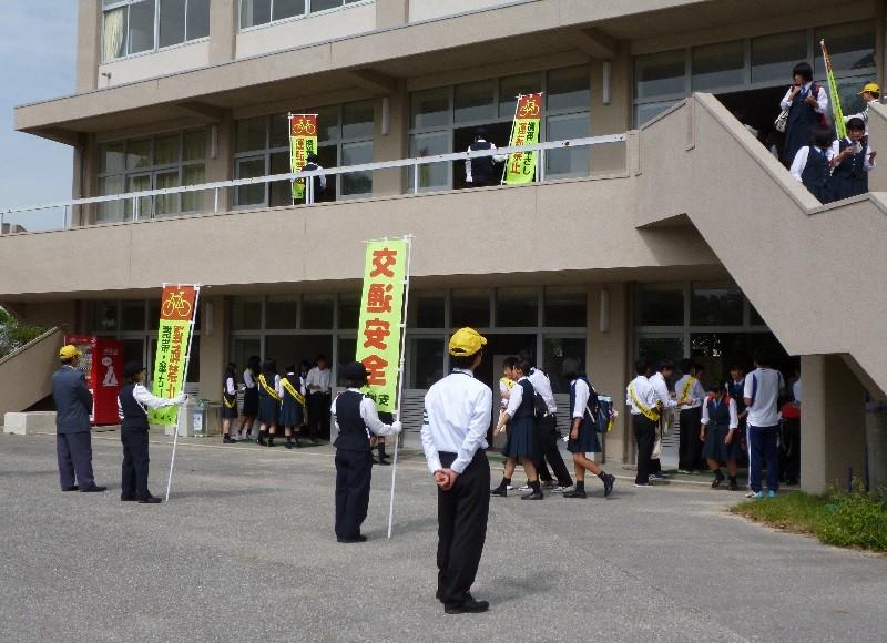ハイスクール自転車組~マナーアップ大作戦~2015.10.5 安城東高校 (5)