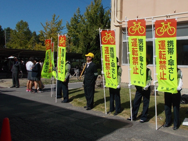 2015.10.14 あんじょう農林高校自転車安全利用キャンペーン (4) 800-600