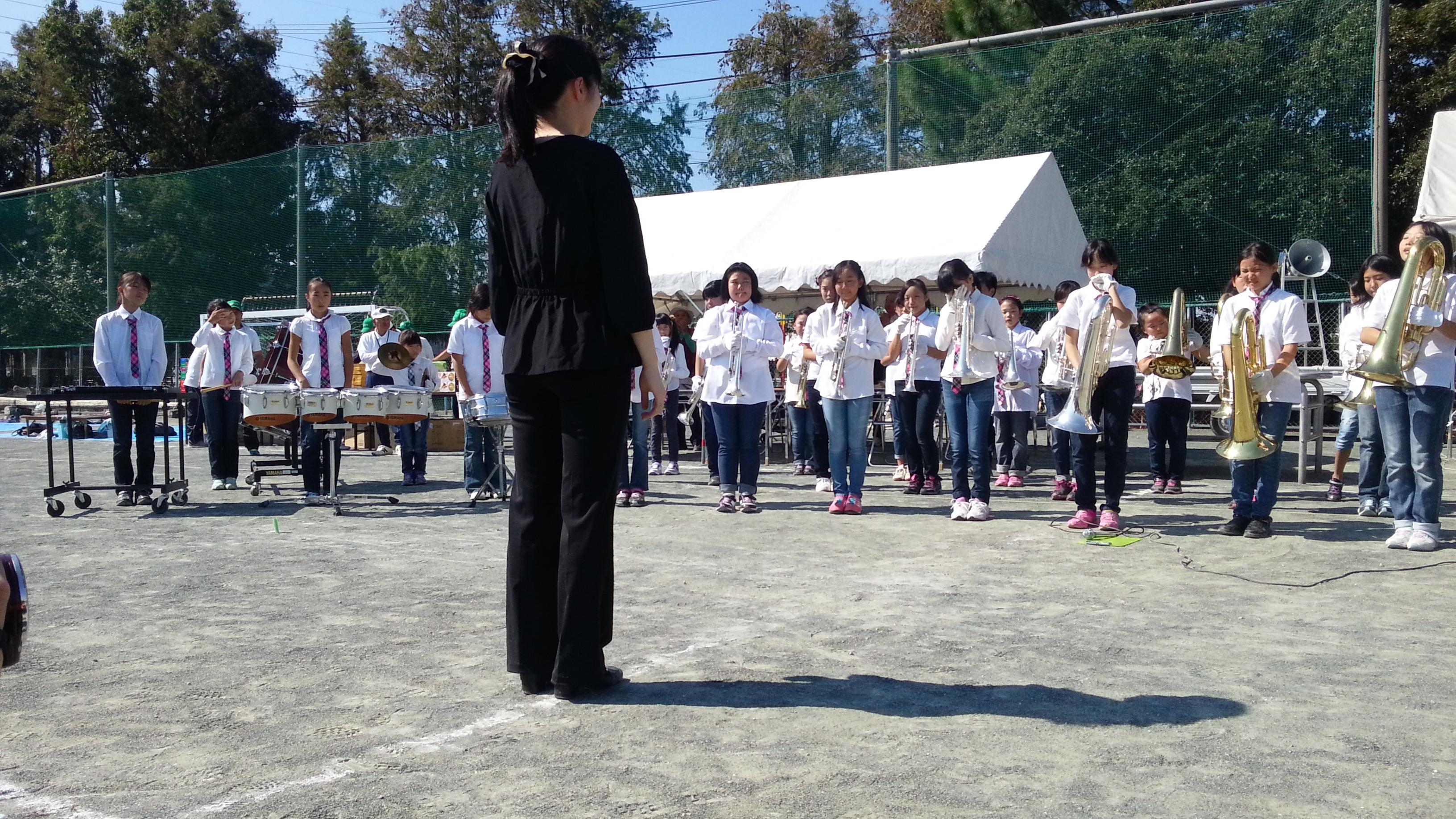 20151018_111252 古井町内会運動会 - 南部小学校金管バンド