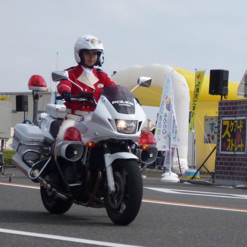 20151101 すこやか交通宣言フェスタ - 崎久保千鶴巡査 (2) 1000-1000