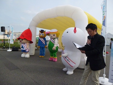 20151101 すこやか交通宣言フェスタ - きぐるみ (3) 480-360