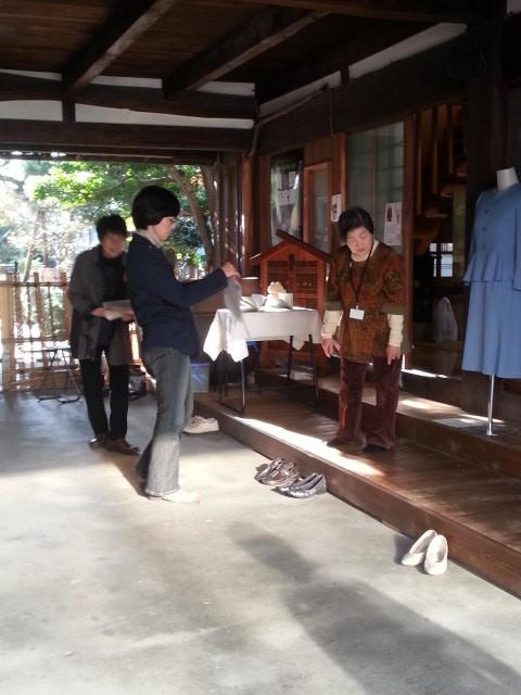 20151121_144428 岡菊苑 - 和服リメイクグループ「めざめのとき」作品展