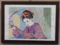 安祥公民館まつり (4) 安祥ボールペン画坂井佳子さん
