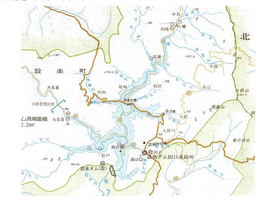 4.水没地周辺図 - 豊川を守る住民連絡会議