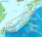 宮古島の位置図(ヰキペディア)