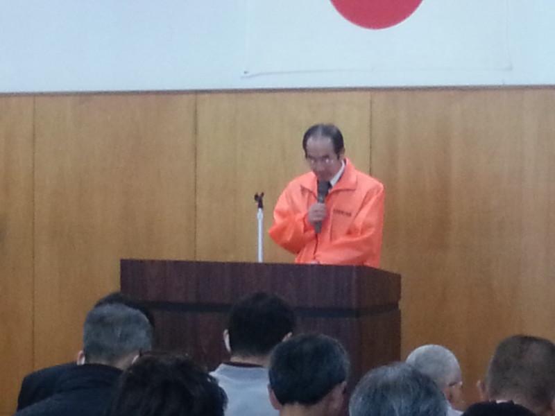 2016.3.20 古井町内会総会 (3) 事業報告