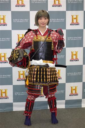 甲冑すがたの田名部生来(たなべみく)さん(さんすぽ)01