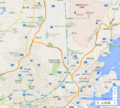 宮城県大郷町の地図(あきひこ)
