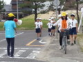 20160604_091757 あんじょうし交通安全こども自転車大会 (4) 2信号右折