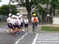 20160604_091906 あんじょうし交通安全こども自転車大会 (5) 2信号右折