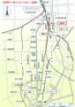 松重閘門の地図