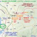熊本地震と宇土市の地図(あきひこ)