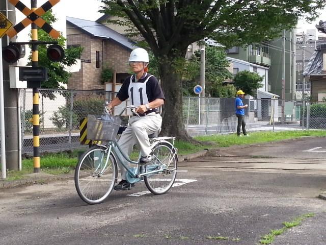 20160626 (1) 作野小学区ゼッケン11
