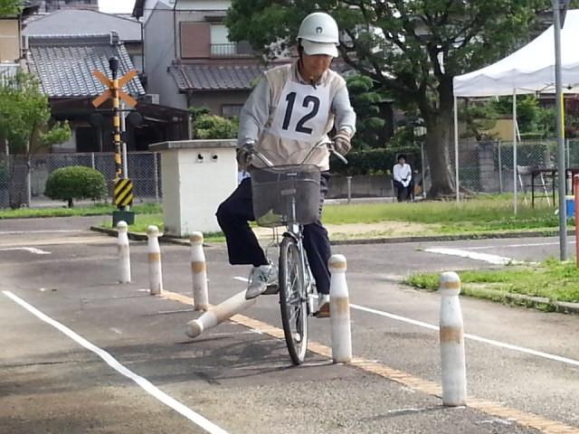20160626 (1) 作野小学区ゼッケン12