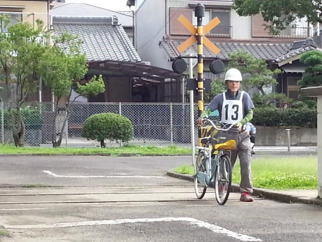 20160626 (1) 作野小学区ゼッケン13