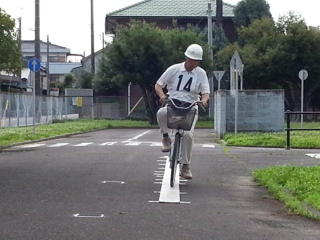 20160626 (1) 作野小学区ゼッケン14