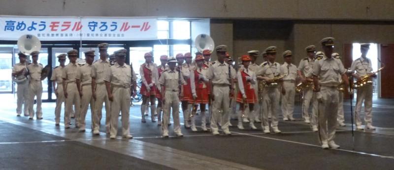 2016.7.21 愛知県こども自転車大会 - 愛知県警察音楽隊 (1)