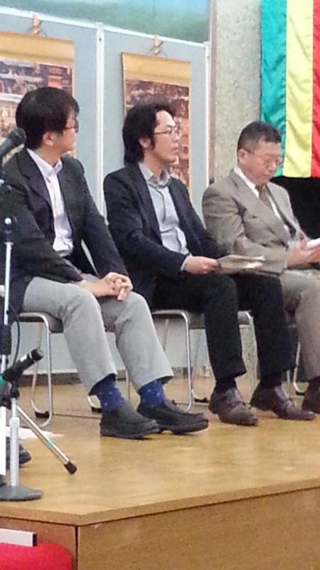 20161009_134102 あんじょうえときフォーラム (7) 座談会 - 土屋貴裕さん