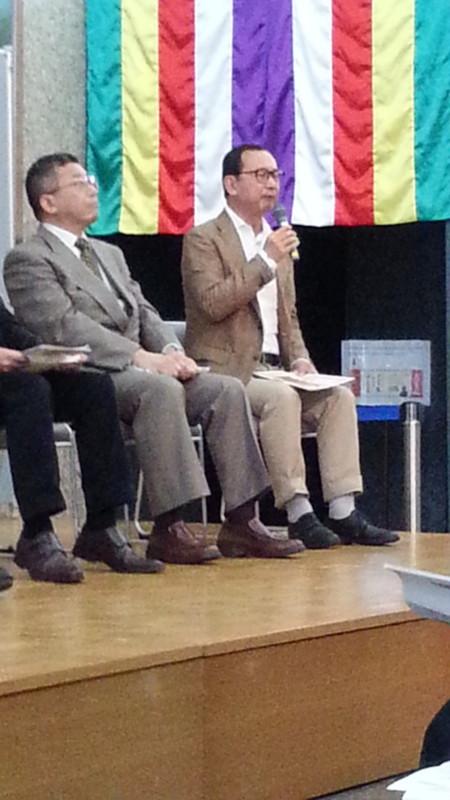 20161009_134110 あんじょうえときフォーラム (9) 座談会 - 阿部泰郎さん