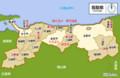 鳥取県の地図(マピオン)