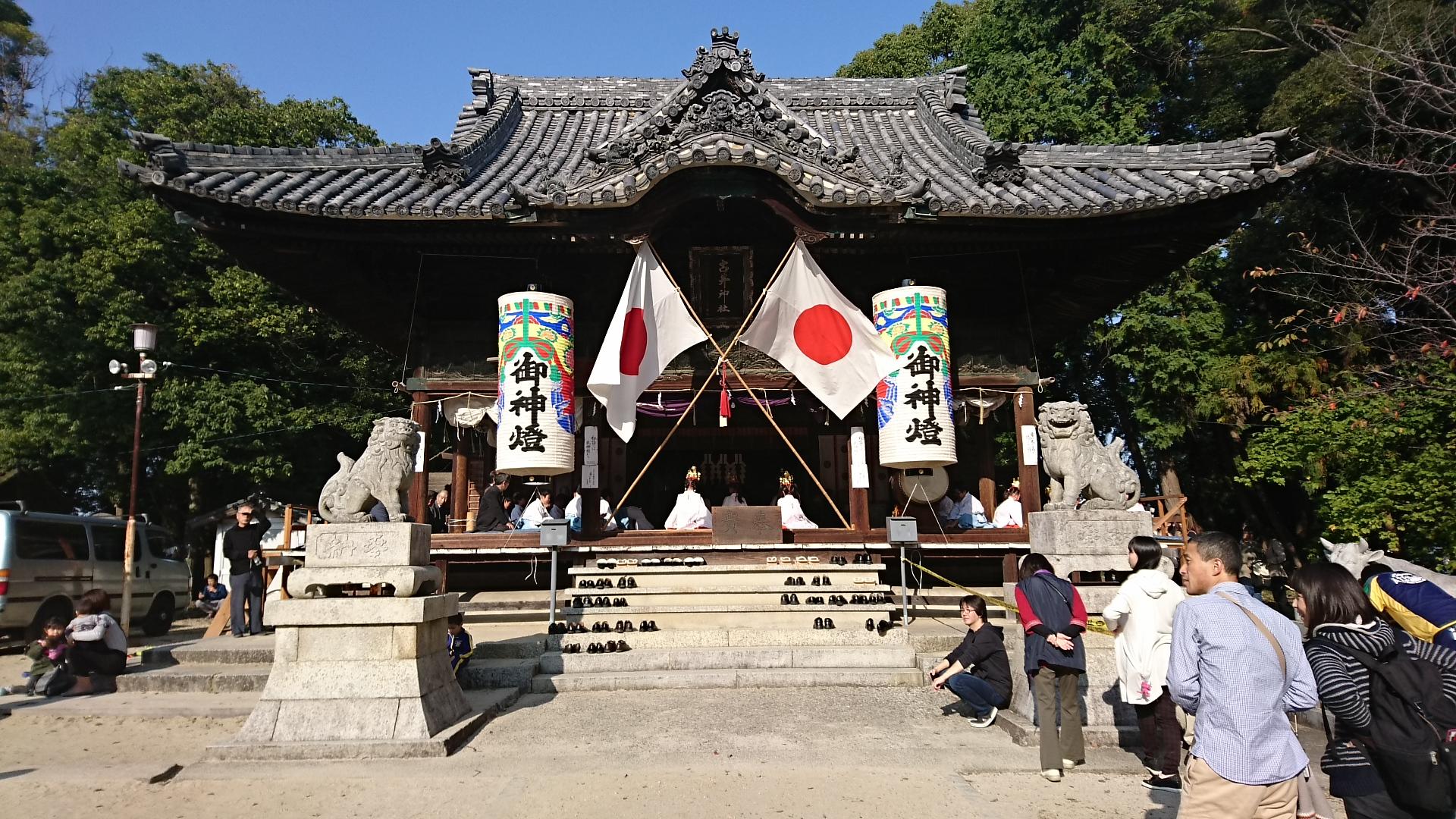 2016.11.6 古井神社大祭 (1)