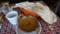 2016.12.9 二川 (4) 二川のキリティカ - なすとチキンのカレーとナン