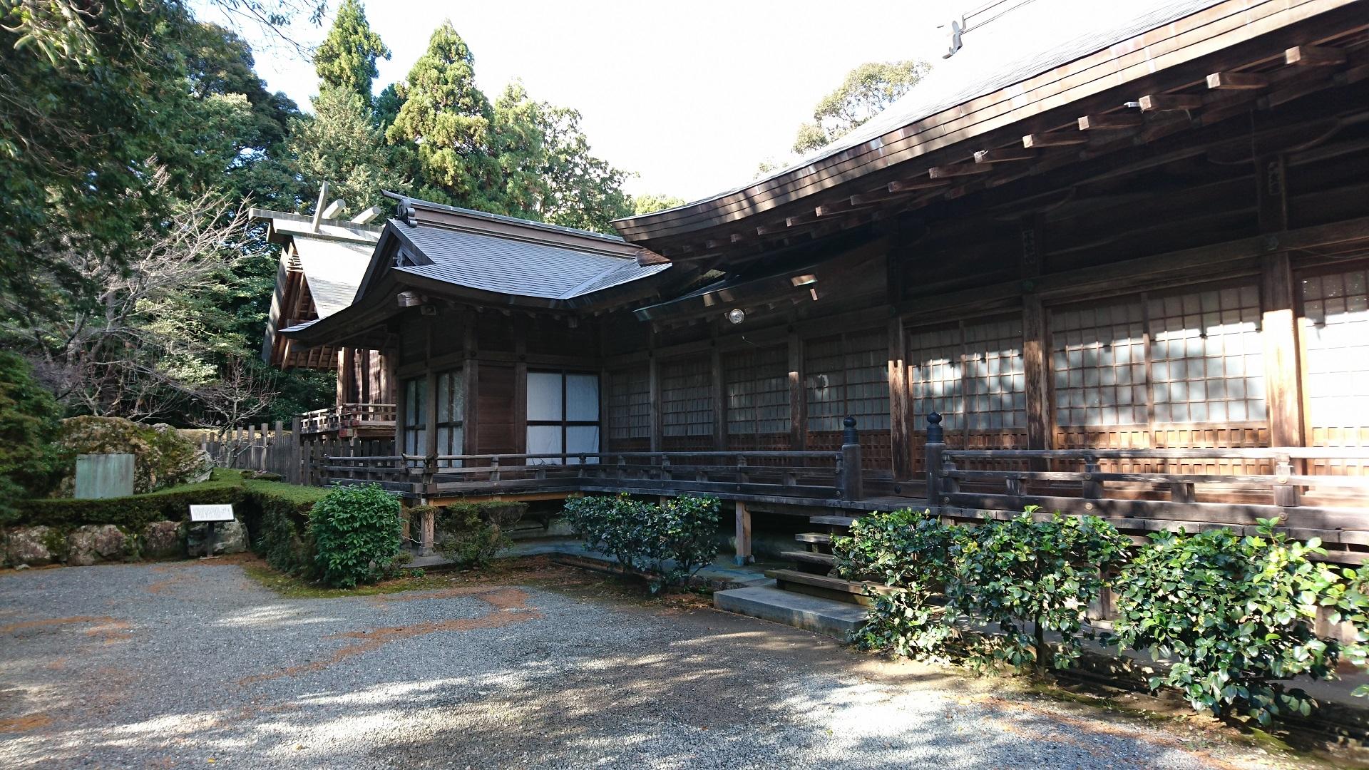 2016.12.23 井伊谷宮 (16) 拝殿 1920-1080