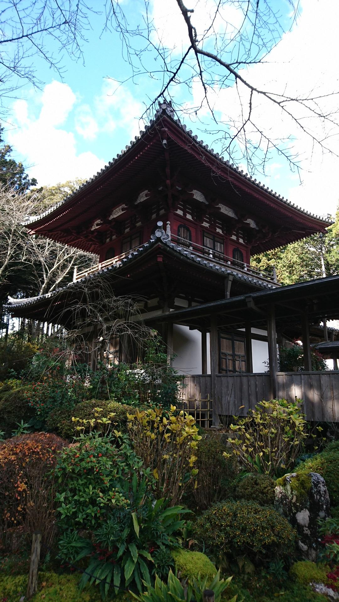 2016.12.23 竜潭寺 (5) 開山堂