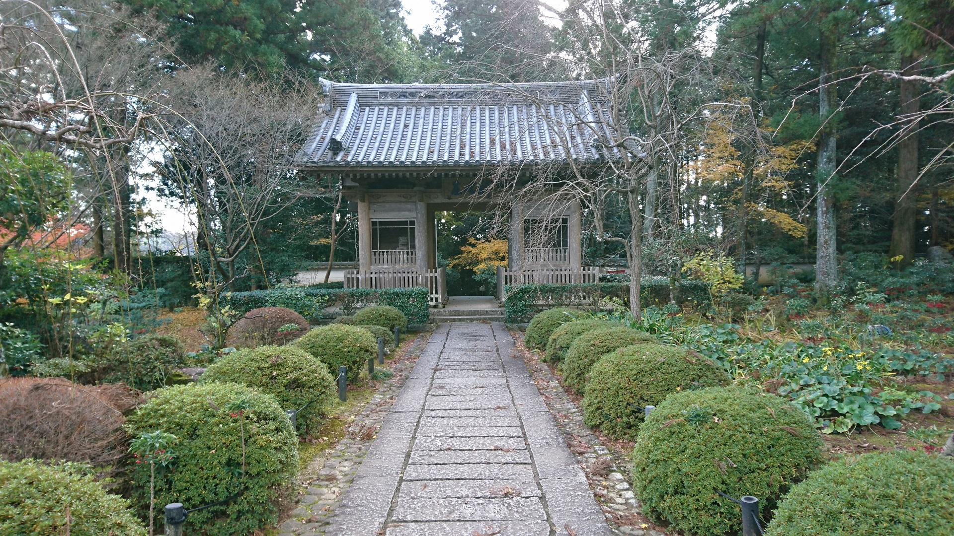 2016.12.23 竜潭寺 (7) 仁王門
