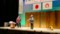 2017.2.25 あんじょうし交通安全市民大会 (1) めおと楽団ジキジキの音楽漫