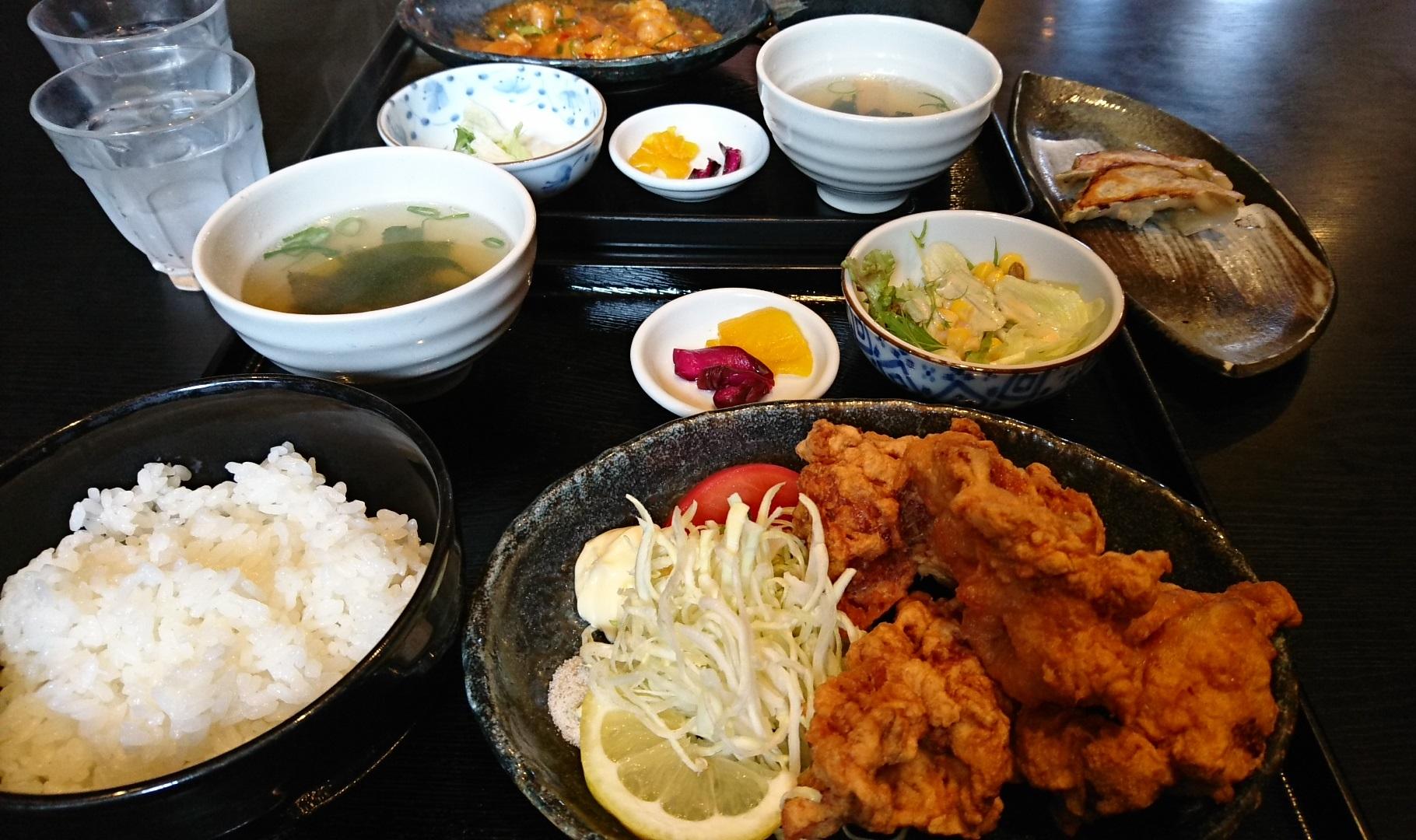 2017.5.2 好吃(ハオチー) - からあげ定食