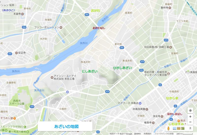 あざいの地図(あきひこ) 1020-700