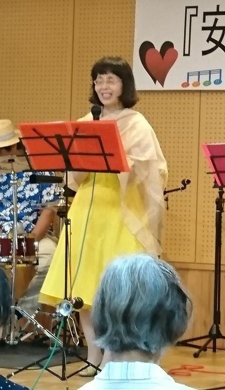 2017.7.22 古井新町ふれあいバンド (10) 個人紹介(うた) 450-780