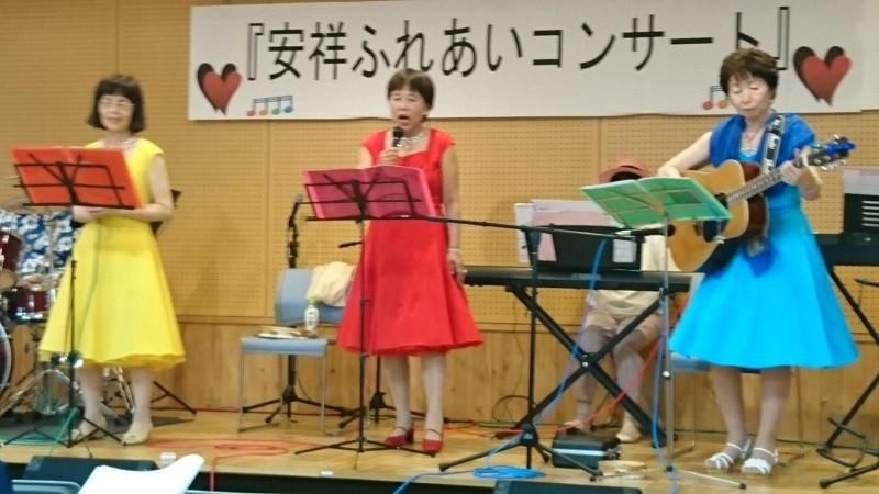 2017.7.22 古井新町ふれあいバンド (24) 13.ここにさちあり♪ 800-450