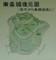 「東条城の歴史」 - 東条城復元図(西方から鳥瞰図風に) 300-320