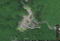 飛騨河合パーキングエリア(地形図) 820-560