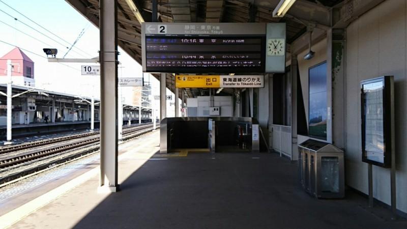 2018.1.25 みかわあんじょう (15) 発車案内板 1280-720